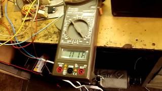 Симисторный регулятор и двигатель 5.5 кВт