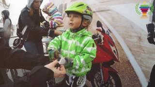 видео Мини Гран-При России для детей  от  1 года.                                   Гонки на беговелах, самокатах, велосипедах