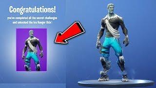 NEW 'ICE RANGER' Skin in Fortnite! Fortnite ICE RANGER Skin Leaked! (Fortnite: Battle Royale)
