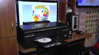 Epson L 800 Printer CD / Dvd emas bosma ta'mirlash