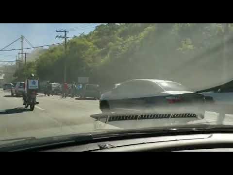 'Fui o último a passar', diz motorista que escapou de acidente na Av  Nossa Senhora do Carmo