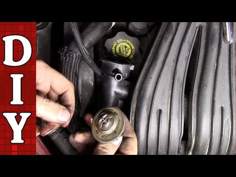 How To Remove And Replace A Thermostat Chrysler Pt