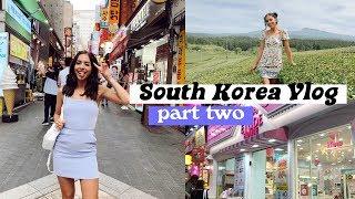 SOUTH KOREA VLOG | JEJU ISLAND + SHOPPING IN SEOUL