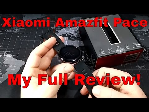 Xiaomi Amazfit Pace GPS Smartwatch - My Full Review - Best smartwatch for runners?