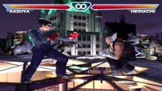 Tekken 4 OST - Authentic Sky - Extended In-Game [HD]