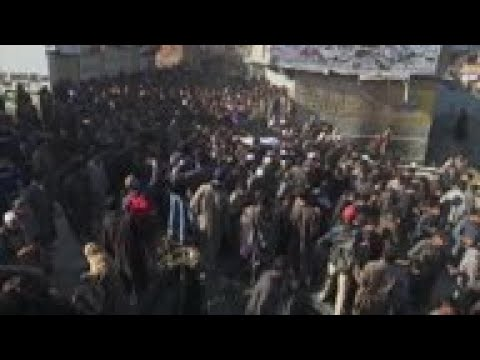 Funeral for boy killed in violence in Kashmir