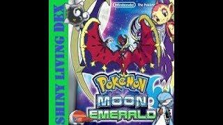Pokémon Moon Emerald Shiny Living Dex Episode 1-Best Shiny Hunter Around