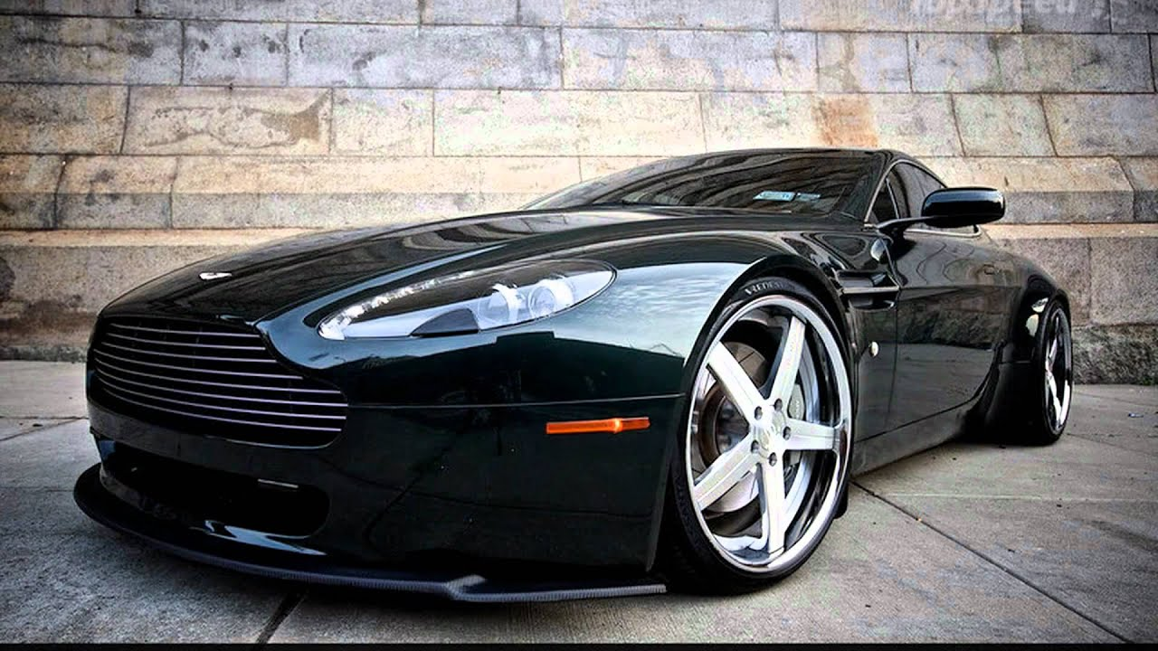 2010 Aston Martin V8 Vantage by D2Forged - YouTube