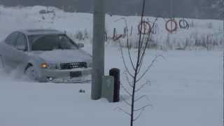 2004 audi a4 deep snow test HD