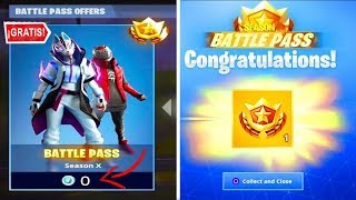 *QUICK!* like GET the new 10 FREE BATTLE PASS on FORTNITE! 😱🎁 - Season X