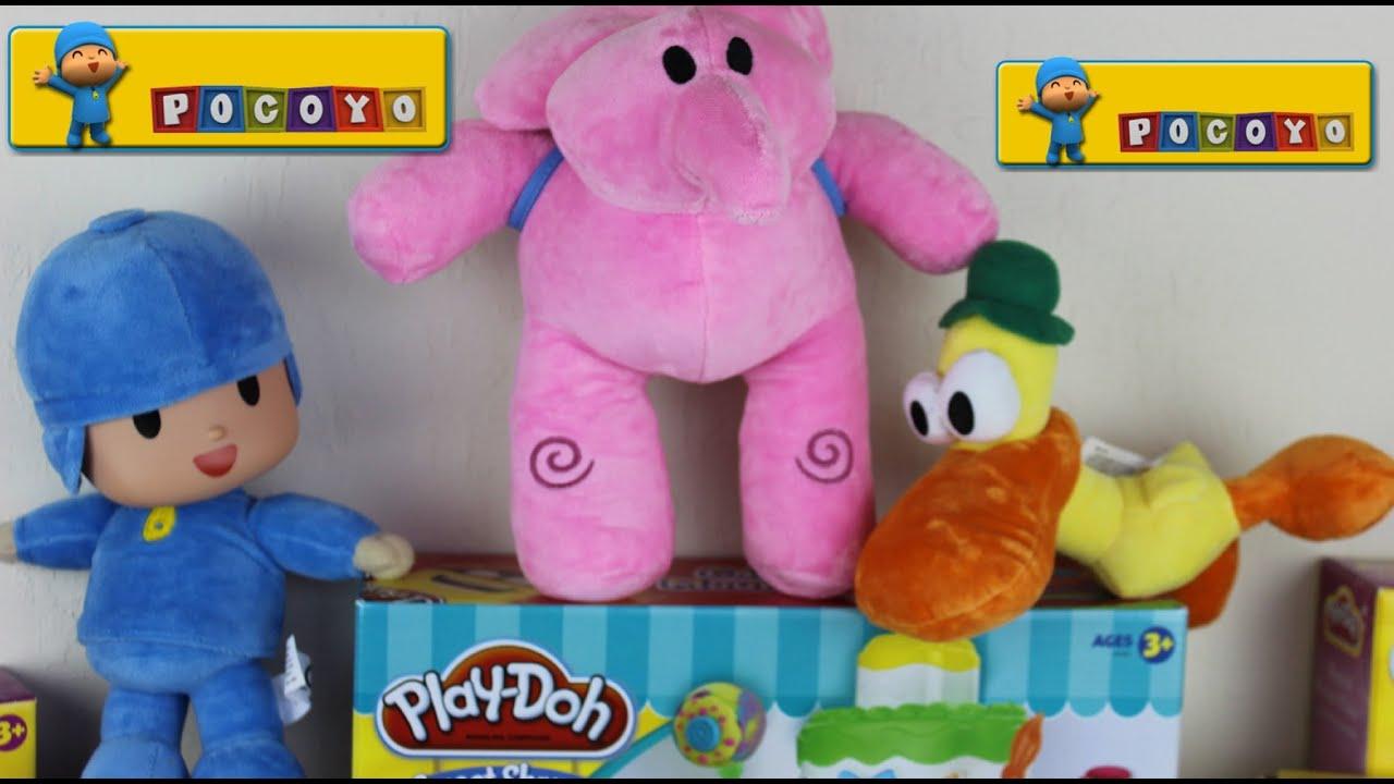 Juguetes De Pocoyo Y Sus Amigos Pato Y Elly Pocoyo And Friends