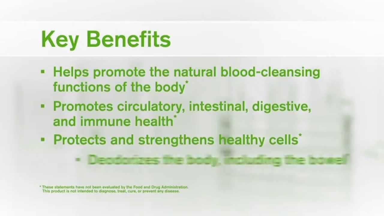 Chlorophyll Detox Drink Benefits