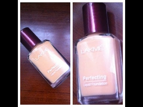 Lakme Perfecting Liquid Foundation - Review and Demo