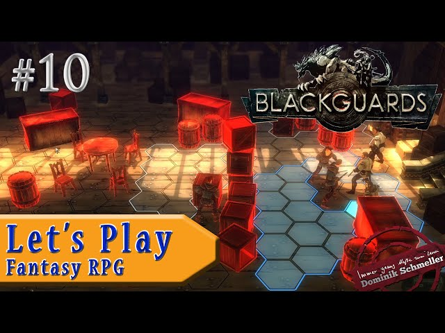 Let's Play Blackguards #10: Kistenrücken (Rollenspiel / Das Schwarze Auge / blind)