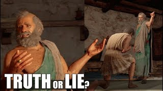 Tell Slave Owner The Truth VS The Lie (All Choices) Once A Slave - Assassin's Creed Odyssey