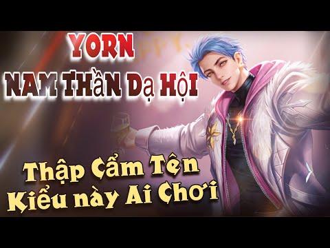 LIÊN QUÂN | Trải nghiệm Skin mới trong SSM Yorn - Nam Thần Dạ Hội cùng FUNNY GAMING TV