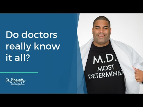 Do doctors really know it all?