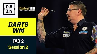 Ally-Pally-Wespe terrorisiert Gary Anderson und Co. | Darts WM | Tag 2 Session 2 | DAZN