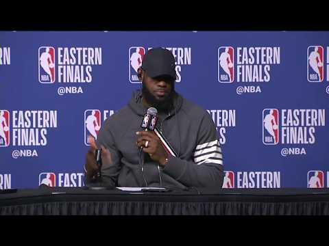 LeBron James & Kevin Love Postgame Interview | Cavaliers Vs Celtics Game 2