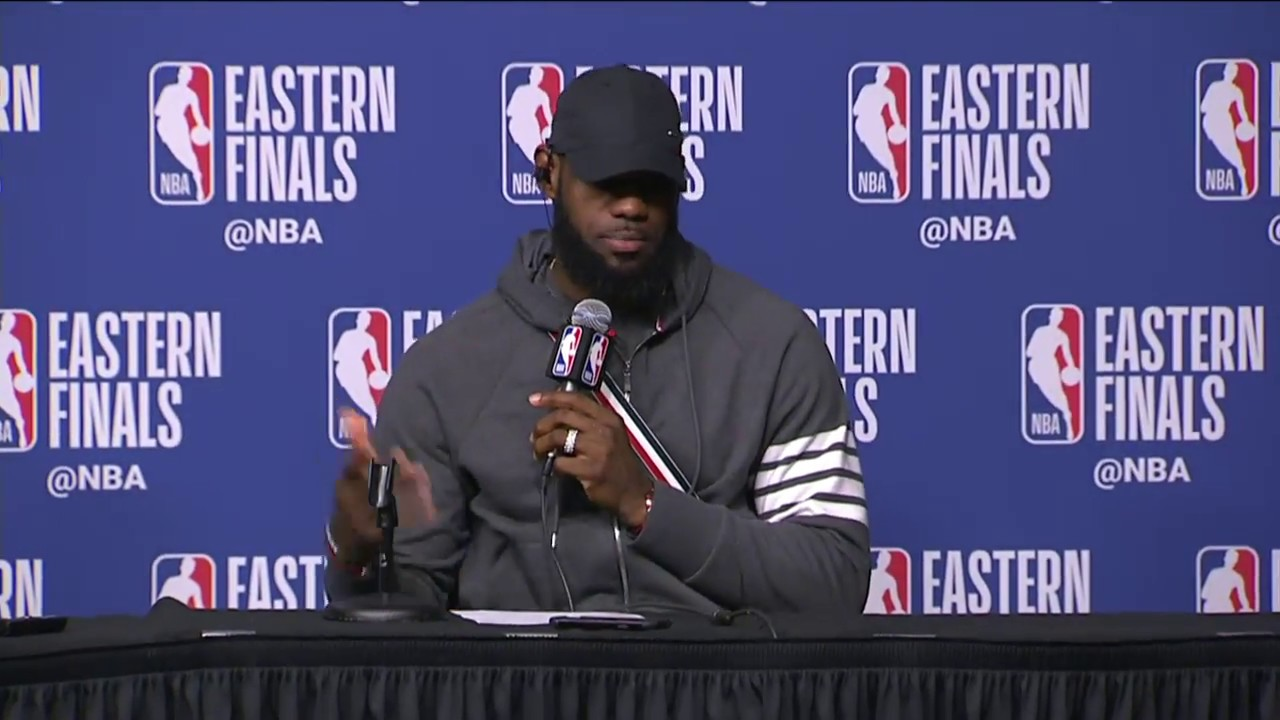 794c87776ff LeBron James   Kevin Love Postgame Interview