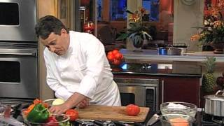 Peel and Dice a Tomato by Chef Jean Pierre