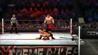 WWE'13 - The Rock vs Brock Lesnar (Extreme Rules Match)