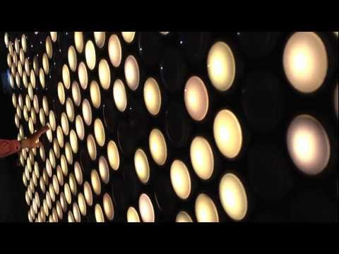 Pixelated Lights Turned Interactive Installation: Tap Tap Animation