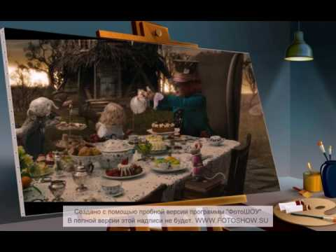 (Alice in Wonderland) Mad hatter and March hare