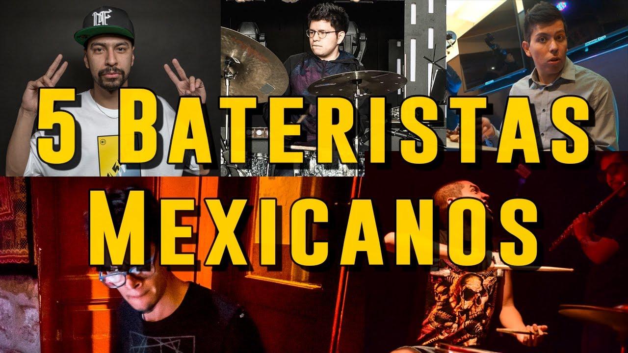 5 Bateristas Mexicanos Que Debes Conocer