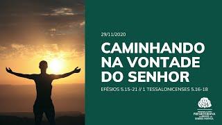 Caminhando na Vontade do Senhor - Culto - 29/11/2020