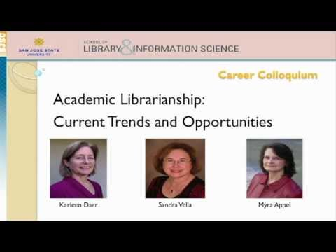 Sandy Vella, Myra Appel, & Karleen Darr: Employment Trends in Academic Librarianship
