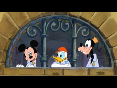 Walt disney la canzone dei tre moschettieri youtube