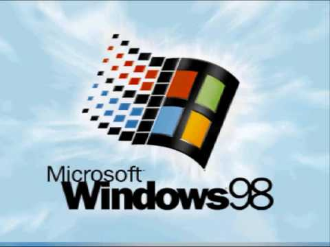 Microsoft windows 98 startup sound youtube for Window 98 iso