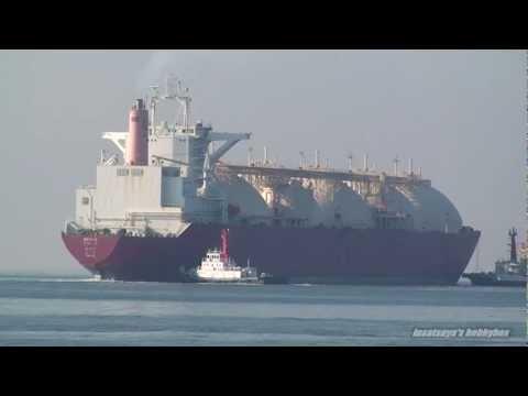 BROOG LNG TANKER SHIP LNGタンカー