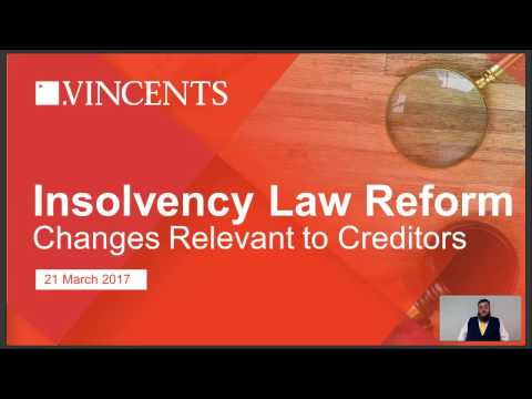 Insolvency Law Reform Changes & Why Are They Relevant to Cre