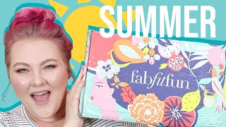 My First FabFitFun Unboxing! // Summer 2018! | Lauren Mae Beauty