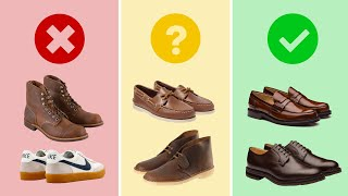 9 Business Casual Shoes for Me…