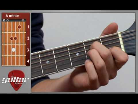 A Minor Guitar Chord Youtube
