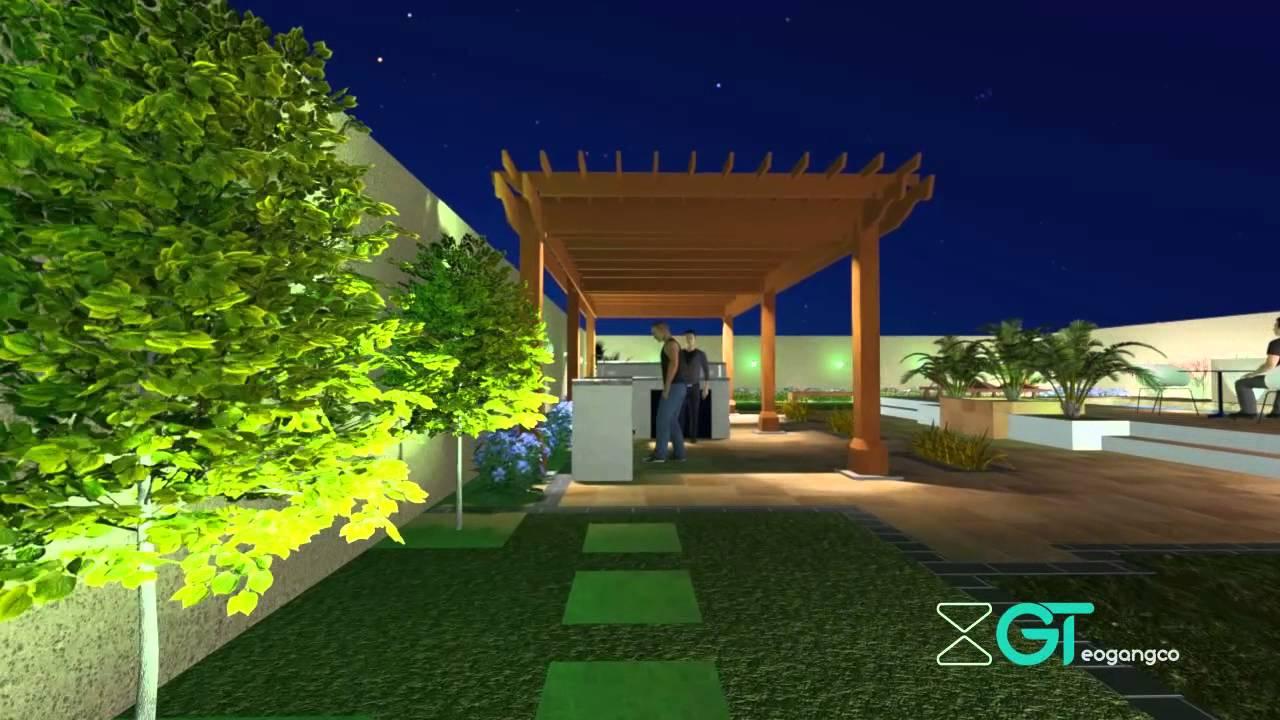 dubai villa landscape project