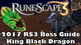 2017 RS3 King Black Dragon Guide - How to Kill the King Black Dragon (Low Level Guide)