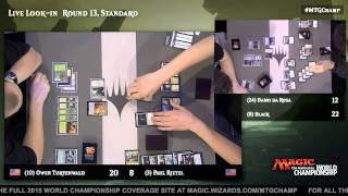 2015 Magic World Championship Round 13 (Standard): Samuel Black vs. Paulo Vitor Damo Da Rosa