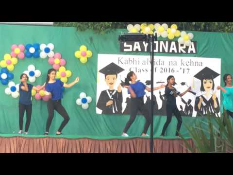 Meridian School , Banjara Hills . KABHI ALVIDA NA KEHNA .Farewell 2K16-17 (Dance)