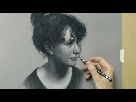 """Julia"" – Portrait Drawing By David Jamieson"