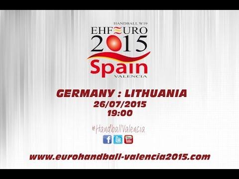 PR - Group B | Germany : Lithuania