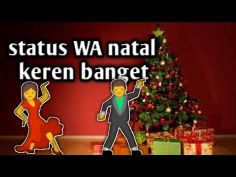 Status Wa Dance Natal Keren Banget Youtube
