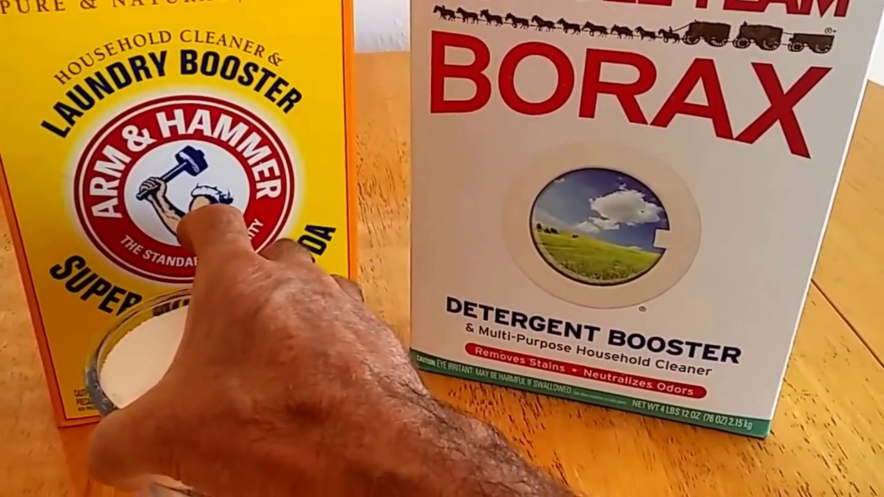 Healthy DIY Laundry detergent, using borax and washing soda (save money too)