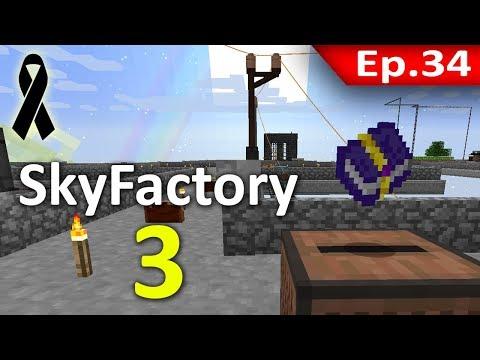 🏭 Minecraft: Sky Factory 3 - ไล่เก็บ Achievement ย้อนหลัง #34