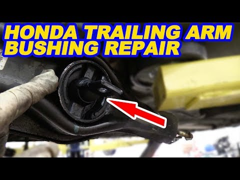 Honda/Acura Rear Trailing Arm Bushing Replacement
