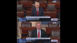 Senators Unveil Legislation to Raise Tobacco Purchase Age to 21