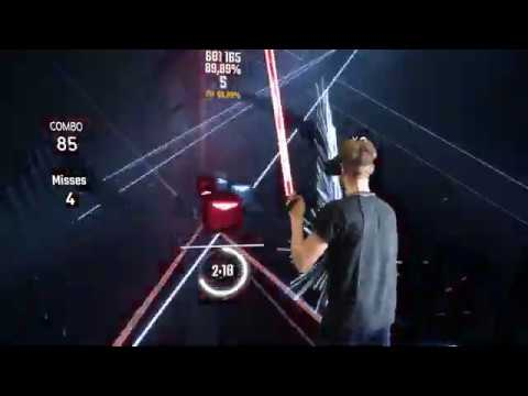 Beatsaber - Mixed Reality - Party Don't Stop | Darren Styles, Dougal & Gammer - Expert Plus